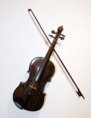 sehr alte Geige Erbstück für