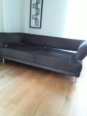 Couch 2 Sitzer grau