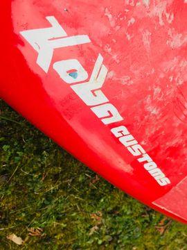 Surfen - Eisbach Fluss Surfbrett - stabil mit