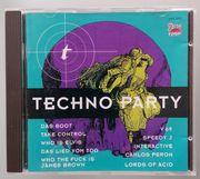 Audio-CD Techno Party 1992 gebraucht