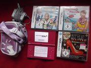 Nintendo DSi PINK Konsole 3xSpiele