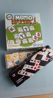 Memory Domino Spiel