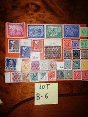 Lot B-6 Briefmarken Alliierte besetzung