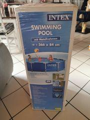 Intex Pool 366x84 neu