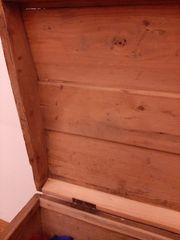 Wunderbare ANTIKE Holz Truhe