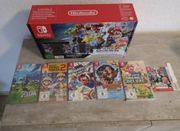 Nintendo Switch inkl 6 Spiele