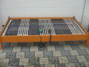 Bett mit Elektromotorrahmen verstelbarem Lattenrostt