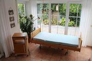 Pflegebett Krankenbett Seniorenbett Stiegelmeyer Lieferung