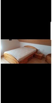 Bett 140x200cm mit Matratze und