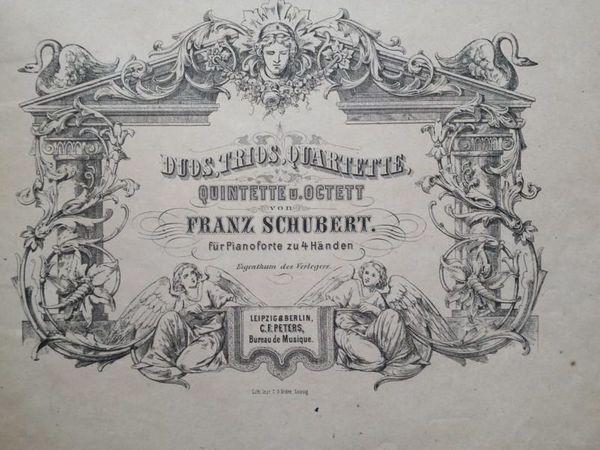 Noten f Klavier zwei- u