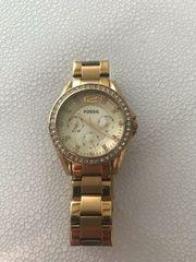 Damen Uhr Fossil