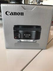 Canon Objektiv EF 50mm neu