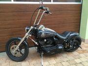 Harley Davidson Softail Custombike