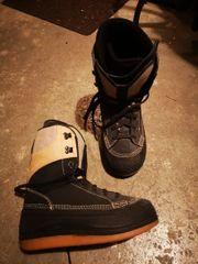 verschenke Snowboard Schuhe grösse 45
