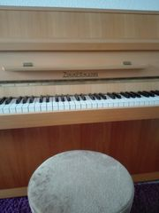 Zimmermann Klavier-Piano mit Hoker