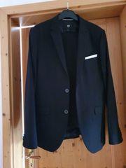 Anzug Gr 46 48 schwarz