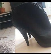 neue Leder High Heels
