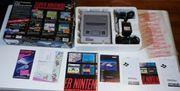 Nintendo SNES mit Spiele und
