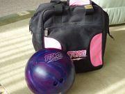 Damen Bowlingkugel mit Tasche