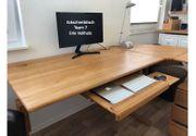 Schreibtisch aus Erle Natur von