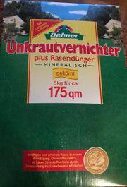 Unkrautvernichter plus Rasendünger - mineralisch - 5