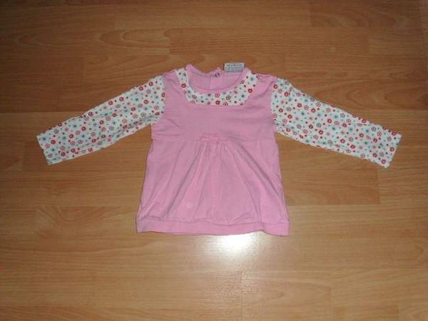 Langarmshirt von Topolino rosa mit