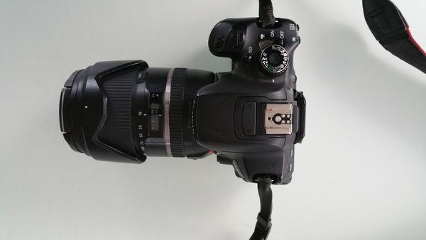 Canon EOS 650D Digitalkamera mit