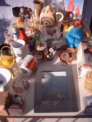 Kiste Konvolut Flohmarkt in Wald