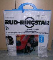 RUD-Ringstar Standmontage Schneeketten aus spezialgehärtetem