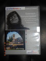 Spanisch Sprachkurs Komplettpaket auf DVD