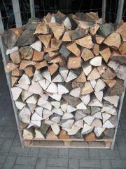 Brennholz Scheidholz ofenfertig 1 sRm