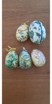 Ostereier bemalt bedruckt verschiedene Größen