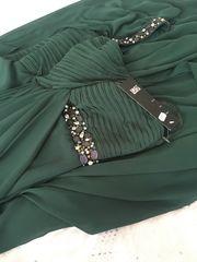 Single Sleeve Abendkleid