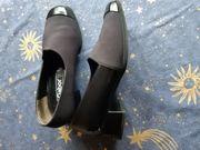 Damenschuh schwarz Gr 5 1