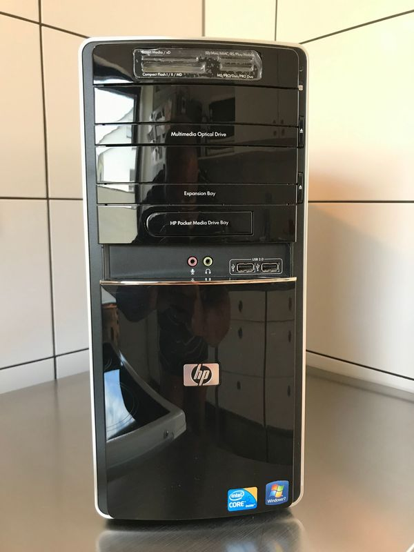 HP Pavilion Desktop-PC - i5 - 8 GB