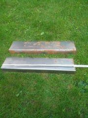 2 Stahl Winkel Bleche