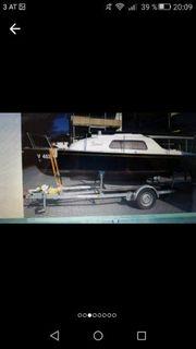 das seegelboot ist ohne Führerschein
