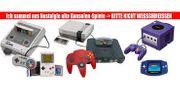 SUCHE alte Spielekonsolen Zubehör Spiele