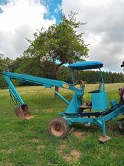 Anhängebagger Mistlader Hydrauliklader Holz oder