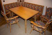 Bauernmöbel - Eckbank mit Tisch und