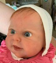 Vollsilikonbaby Mädchen