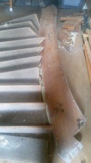 Alte Treppe aus Fachwerkhaus