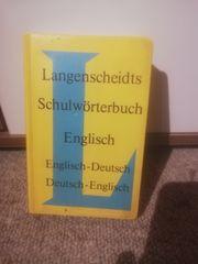 schulwörterbuch englisch