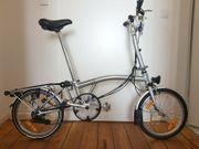 Brompton Klapprad Bike M6R Tasche