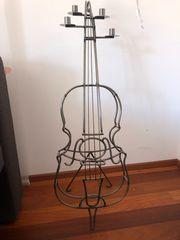 Metallkerzenständer Violine f 4 Kerzen