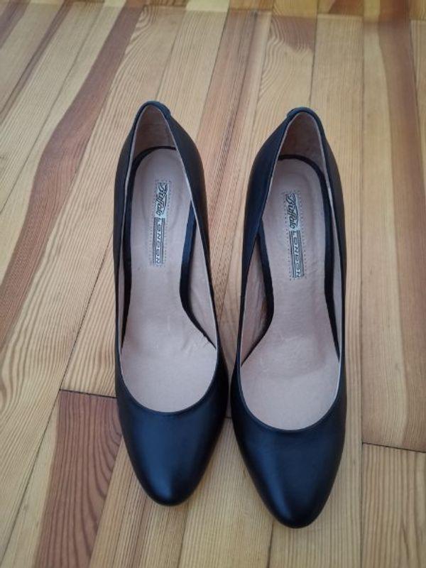 Buffalo High Heels silber in Gr. 38 wie neu in München