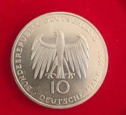 Gedenkmünze 10 Deutsch Mark anlässliche