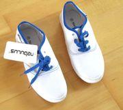 NEUE weiße Schuhe Stoffschuhe von
