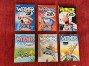 Werner Comics - Taschenbücher Ausgabe 1 -