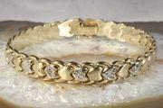 Armband Gold 585 19 5